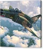F-4E MiG Killers Canvas Print