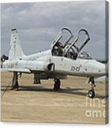 F-5 Tiger II Used As A Lead-in Trainer Canvas Print