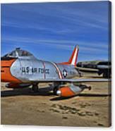 F-86h Sabre Canvas Print
