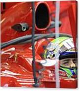 F1 Driver Felipe Massa Canvas Print