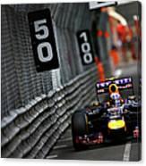 F1 Grand Prix Of Monaco Canvas Print