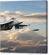 F18 - Super Hornet Canvas Print