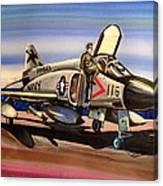 F4 Phantom Canvas Print