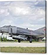 F4e Phantom II  Aircraft Canvas Print