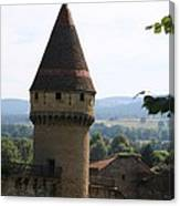 Fabry Tower - Cluny - Burgundy Canvas Print