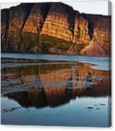 Fabulous Fjord Landscape Of Norway Canvas Print