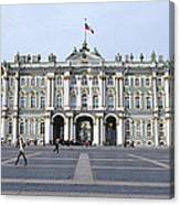 Facade Of A Museum, State Hermitage Canvas Print