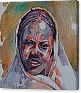 Face 22 Canvas Print