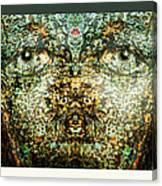 Face Bark Within Canvas Print