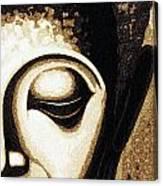 Face Color Lino Canvas Print