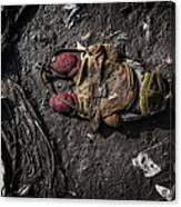 Face Doon In The Dirt Canvas Print