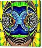 Face Imagination Canvas Print