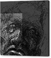 Face In Frame Canvas Print