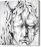 Face Canvas Print