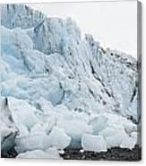 Face Of Bryn Mawr Glacier Canvas Print