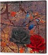 Face The Thorns  Canvas Print