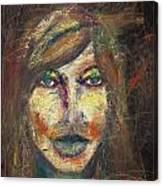 Faces 18 Canvas Print