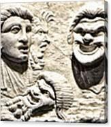 Faces Of Pompeii Canvas Print