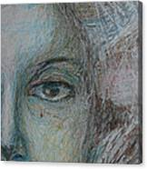 Faces - Right Canvas Print
