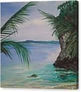 Facing Malatapay Canvas Print