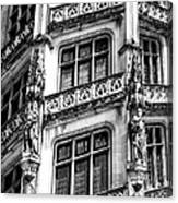 Facing Windows Biltmore Nc Canvas Print