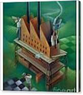 Factory-2 Canvas Print