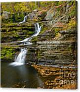 Factory Falls Canvas Print