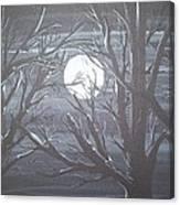 Fade To Black Canvas Print
