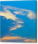 Fading Clouds Canvas Print