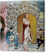 Fado Mural Canvas Print
