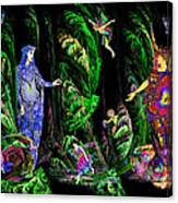 Faery Forest Canvas Print