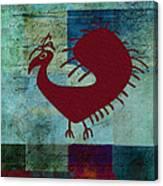 Fafa Bird - 01c01bcr Canvas Print