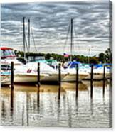 Fah Get A Boat It Canvas Print