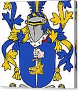 Fahey Coat Of Arms Irish Canvas Print