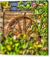 Fair Flower Wagon Canvas Print