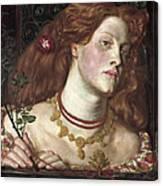 Fair Rosamund  Canvas Print