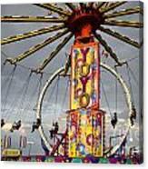 Fairground Fun 4 Canvas Print