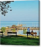 Fairhope Alabama Pier Canvas Print