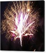Fairies In The Fireworks I Canvas Print