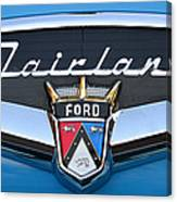 Fairlane Name Plate Canvas Print