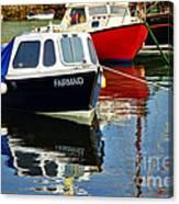 Fairmaid At Mousehole Harbour Canvas Print