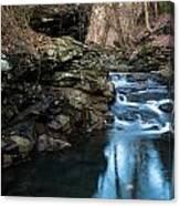 Fairmont Falls Canvas Print