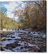 Fairmount Park - Wissahickon Creek In Autumn Canvas Print