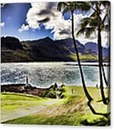 Fairway In Paradise Canvas Print