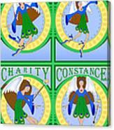 Fairy Angels Canvas Print
