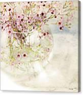 Fairy Bouquet Canvas Print
