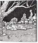 Fairy Circle Canvas Print