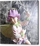 Fairy Hiding From The Light Canvas Print