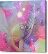 Fairy In Fairy Dust Canvas Print