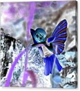 Fairy In The Woods Surreal Canvas Print